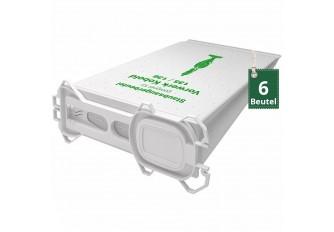 6 Vlies Staubsaugerbeutel Filtertüten geeignet für Vorwerk Kobold VK 135 und VK 136