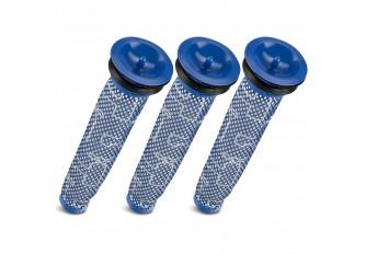 3 Vormotor Filter passend für Dyson V6 , V8 und DC Modelle Ersatz für 965661-01