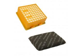 Microfilter Hepa Filter + Aktivkohlefilter Set geeignet für Vorwerk Tiger 260