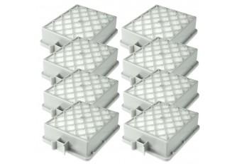 8 Hepa Filter passend für Lux Electrolux Intelligence S115 Langzeitfilter Abluft