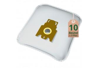 Swyp Vlies Staubsaugerbeutel Filtertüten DISBA MI8m - Inhalt 10 Stück + 2 Filter