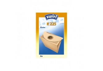 Swirl K 225 Staubsaugerbeutel Filtertüten MicroPor - Inhalt 4 Stück