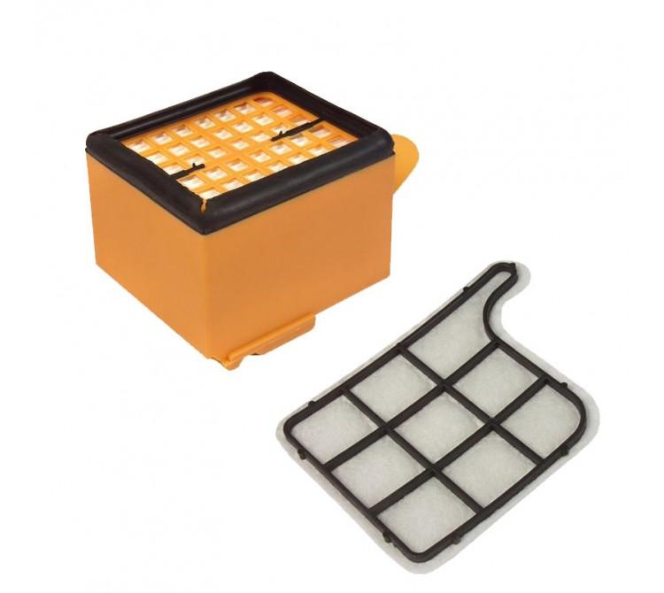 Hepa Filter und Motorschutzfilter Set geeignet für Vorwerk Kobold VK 135 und VK 136