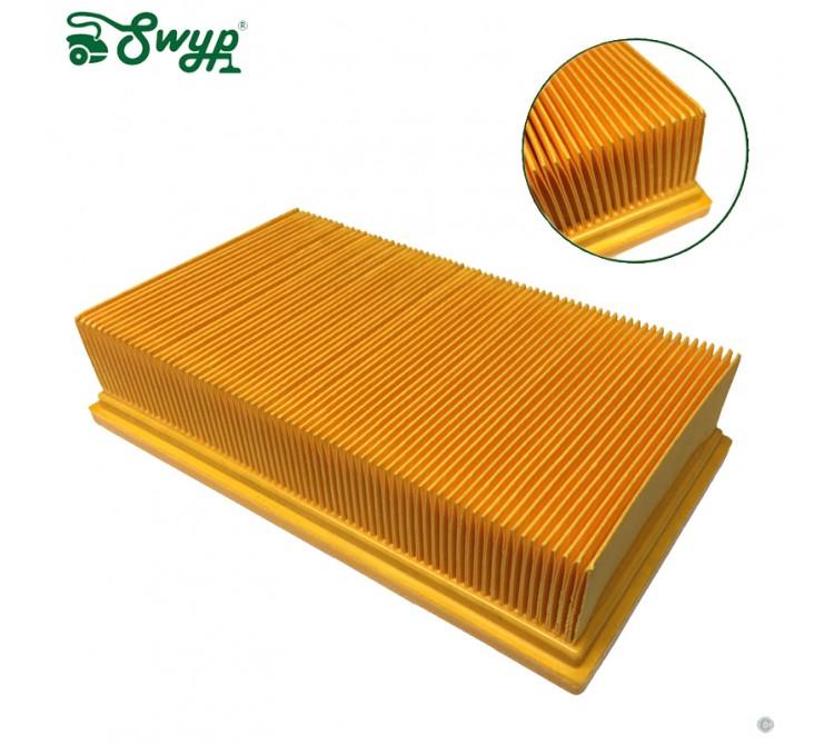Filter Flachfaltenfilter Lamellenfilter passend für Kärcher NT Eco Tact - wie 6.904-206 und 6.904-367