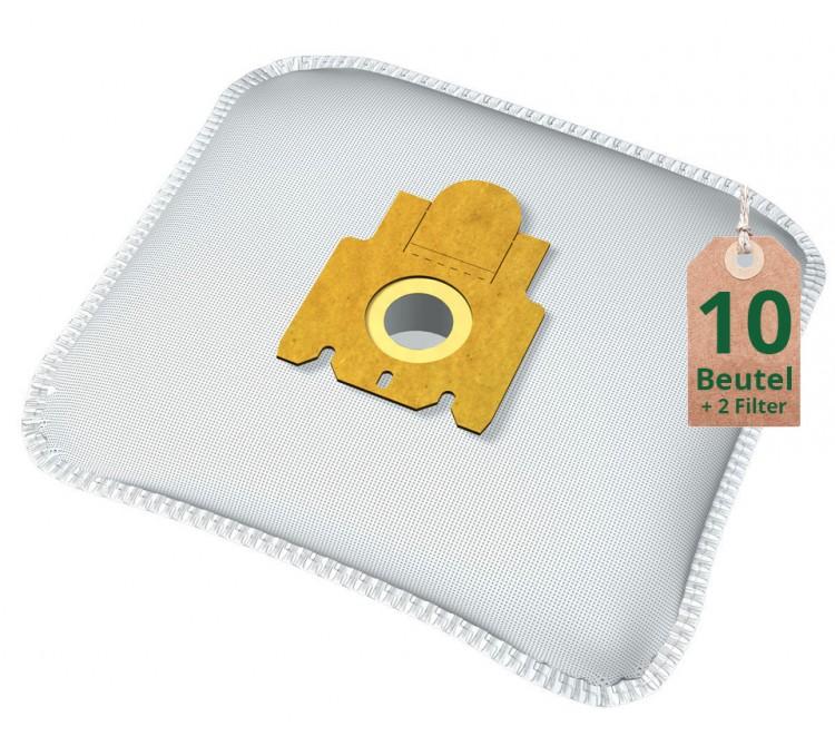 Swyp Vlies Staubsaugerbeutel Filtertüten DISBA M705m - Inhalt 10 Stück + 2 Filter