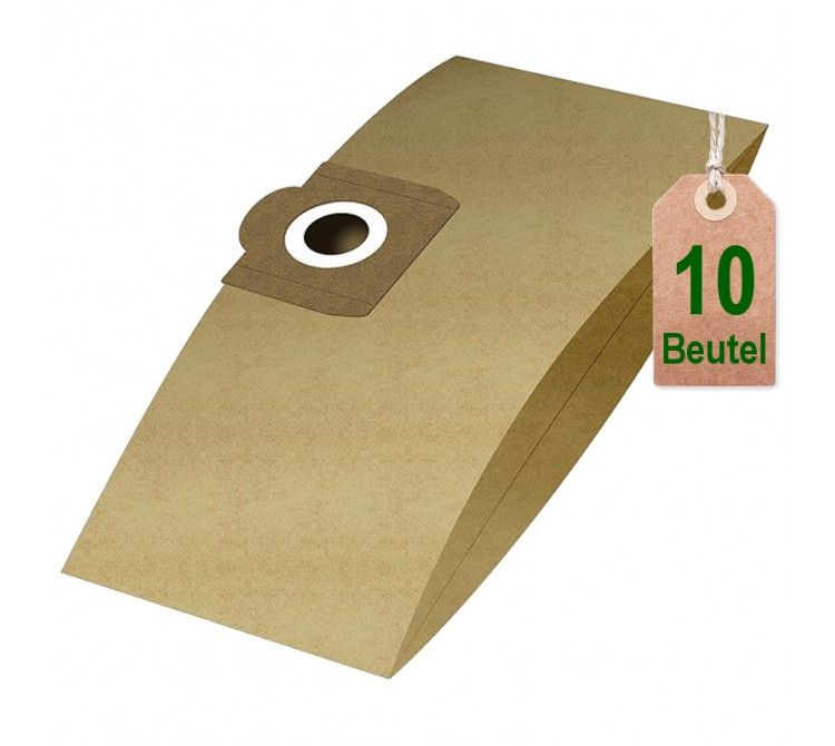 Staubsaugerbeutel Filtertüten Beutel Disba RA14 - Inhalt 10 Stück