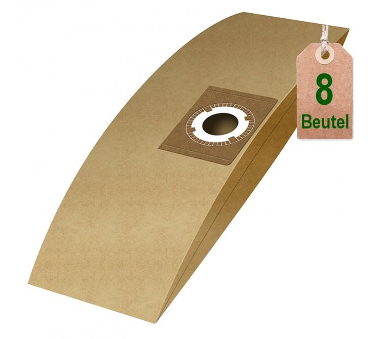 Staubsaugerbeutel Filtertüten Beutel UB20 - Inhalt 8 Stück - 20 Liter