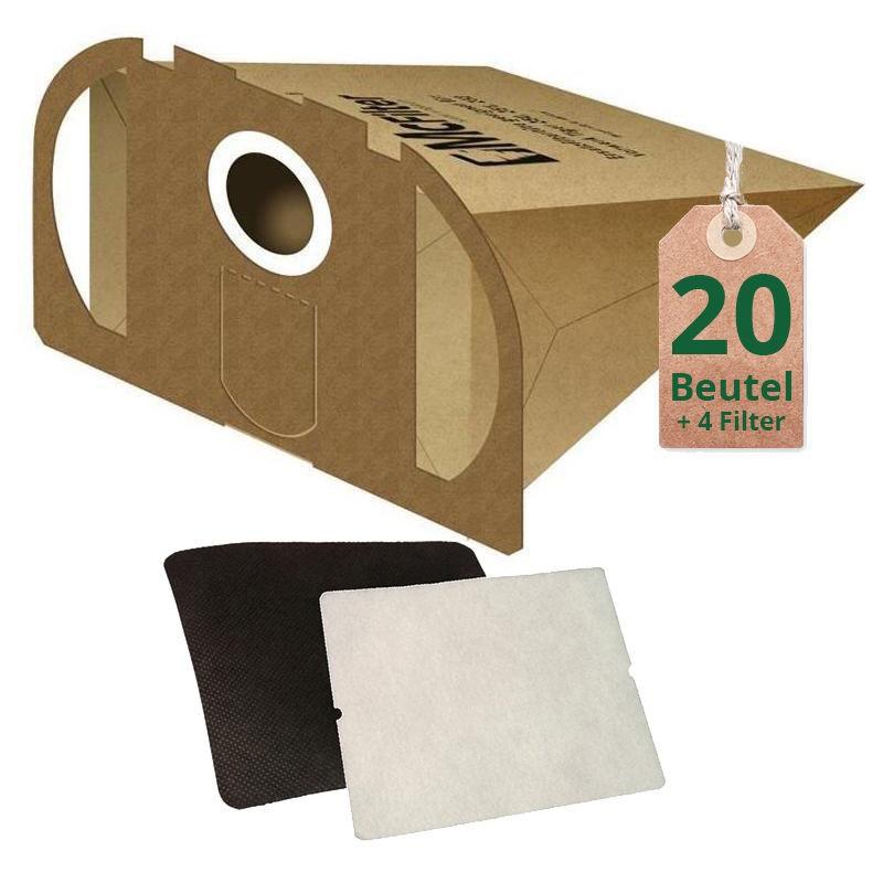 20 staubsaugerbeutel filtert ten geeignet f r vorwerk tiger 250 251 und 252 saugerservice. Black Bedroom Furniture Sets. Home Design Ideas