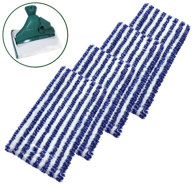 4 universal reinigungst cher passend f r vorwerk hartbodenreiniger sp520 und sp530. Black Bedroom Furniture Sets. Home Design Ideas