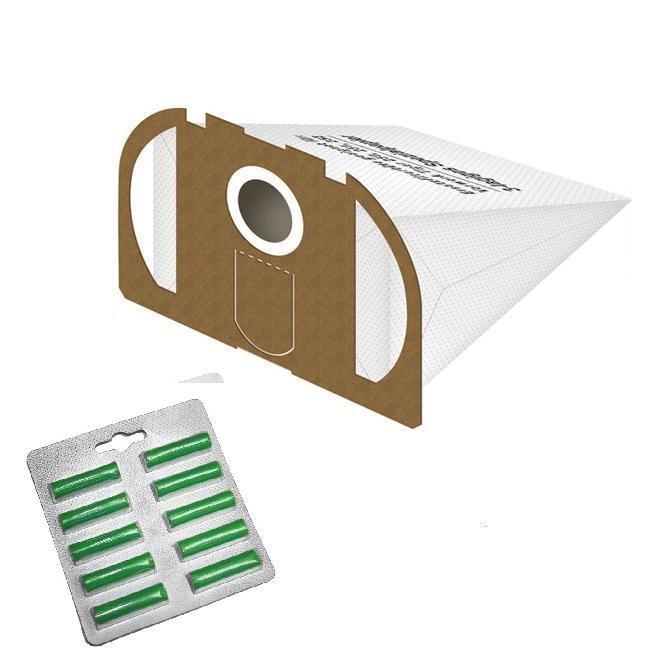 10 staubsaugerbeutel filtert ten geeignet f r vorwerk tiger 250 251 und 252 wei duft gr n. Black Bedroom Furniture Sets. Home Design Ideas