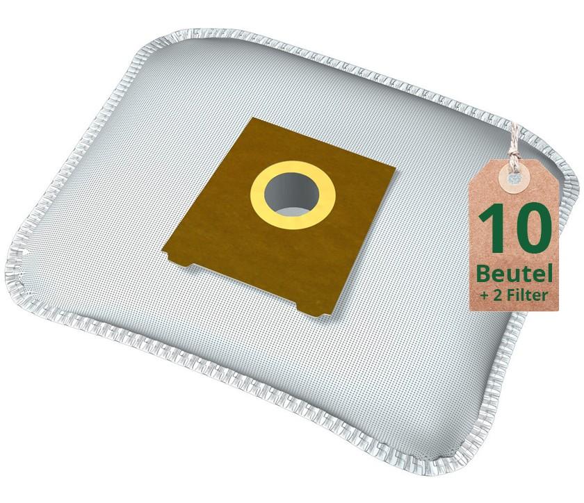 10 Staubsaugerbeutel für Miele S 144 2 Filter Staubbeutel Filtertüten