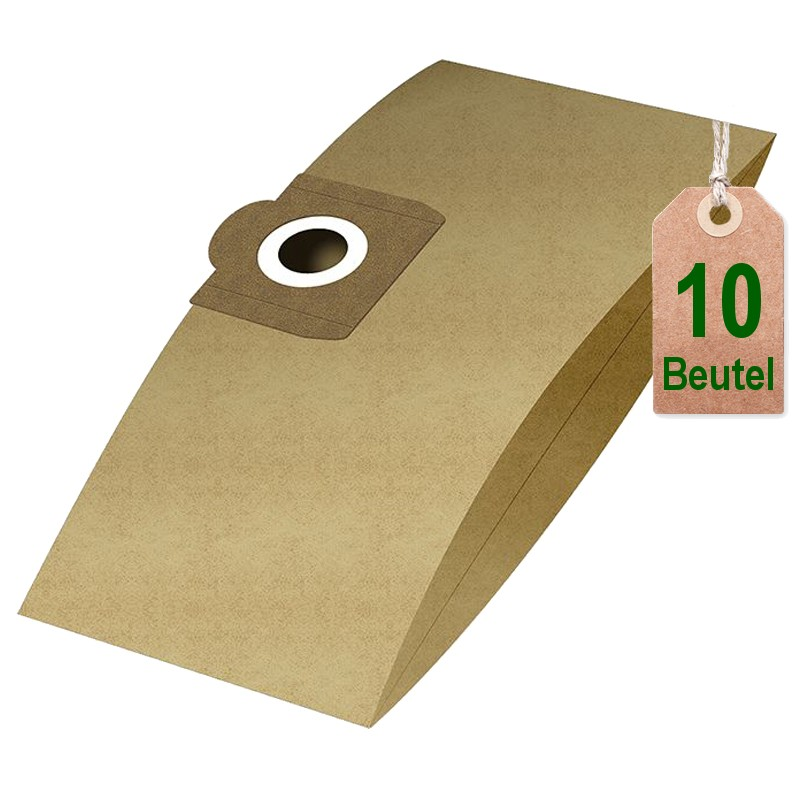 10 Staubsaugerbeutel für Cleanfix S 10 Saugerbeutel Filtertüten Staubbeutel