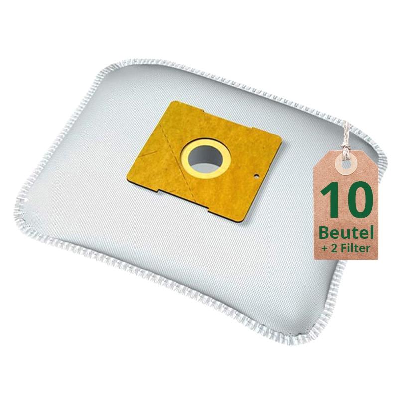 10 Staubsaugerbeutel geeignet für Fakir Prestige A 220 Filter