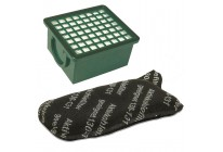 Hepa Filter + Aktivkohlefilter Set geeignet für Vorwerk Kobold VK 130 und VK 131