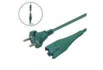 Kabel Stromkabel geeignet für Vorwerk Kobold VK 130 und VK 131 - 7 Meter