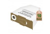 10 Staubsaugerbeutel Filtertüten weiß geeignet für Vorwerk Kobold VK 130 131