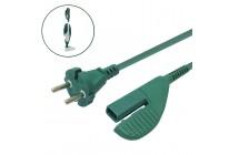 Kabel Stromkabel geeignet für Vorwerk Kobold VK 135 und VK 136 - 10 Meter