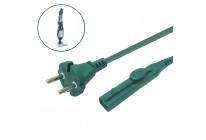 Kabel Stromkabel geeignet für Vorwerk Kobold VK 140 und VK 150 - 7 Meter