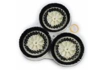 Kehrscheibe Reinigungsbürste Bürste geeignet für Vorwerk Pulilux PL 515