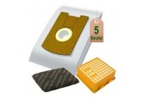 Staubsaugerbeutel Filtertüten Microvlies und Filter Set geeignet für Vorwerk Tiger 260