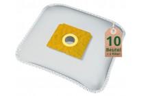 Swyp Vlies Staubsaugerbeutel Filtertüten DISBA AE409m - Inhalt 10 Stück + 2 Filter