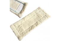 Bodentuch Wischer Mop Nassfaser weiss lang passend für HaRa Bodenexpress 42 cm