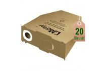 20 Staubsaugerbeutel Filtertüten geeignet für Vorwerk Kobold VK 130 und VK 131