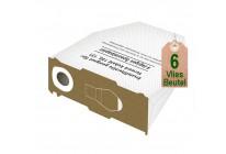 6 Vlies Staubsaugerbeutel Filtertüten geeignet für Vorwerk Kobold VK 130 und VK 131