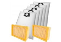15 Staubsaugerbeutel Filtertüten + 2 Filter passend für Kärcher MV 4 5 6 WD 4 5 6