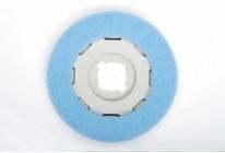Blaues SEBO Pflegepad 3230 ER00 für SEBO Disco Saugbohner