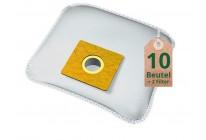 Swyp Vlies Staubsaugerbeutel Filtertüten DISBA WD62 - Inhalt 10 Stück + 2 Filter