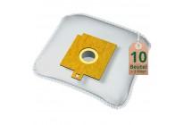 Swyp Vlies Staubsaugerbeutel Filtertüten DISBA WD72 - Inhalt 10 Stück + 2 Filter