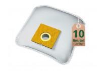 Swyp Vlies Staubsaugerbeutel Filtertüten DISBA XD206m - Inhalt 10 Stück + 2 Filter