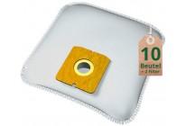 Swyp Vlies Staubsaugerbeutel Filtertüten DISBA ZM616m - Inhalt 10 Stück + Filter