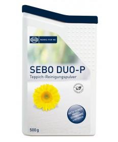 SEBO duo-P Clean-Box Reinigungspulver Teppichpulver 500 Gramm mit Handbürste