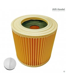 Patronen Filter passend für Kärcher Sauger zum Nass- und Trockensaugen - wie 6.414-522.0