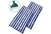 2 Universal Reinigungstücher passend für Vorwerk Hartbodenreiniger SP520 und SP530